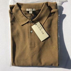 Burberry Shirts - BURBERRY BRIT LONDON CASUAL POLO MEN %100 COTTON